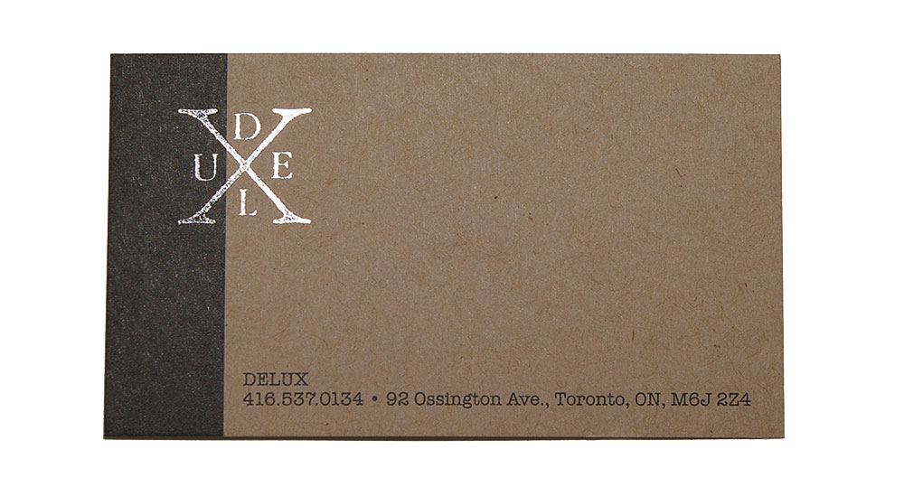 Delux Business Card
