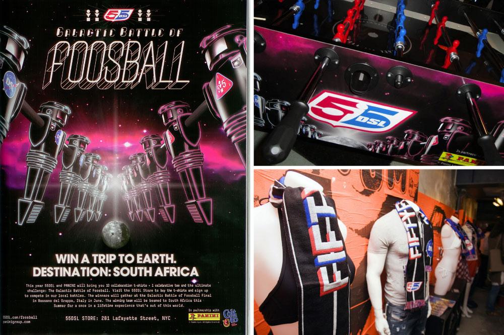 55DSL Galactic Foosball